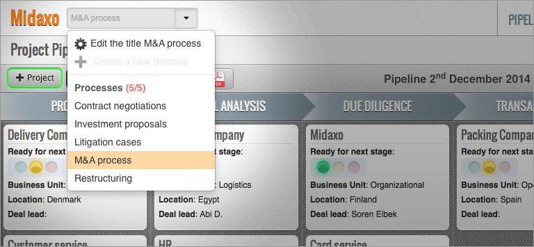 Create and Run Multiple Corporate Process with Our New