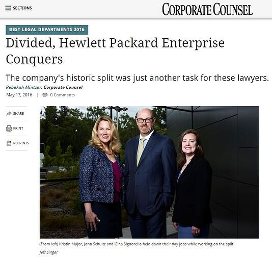 Divided, HPE Conquers