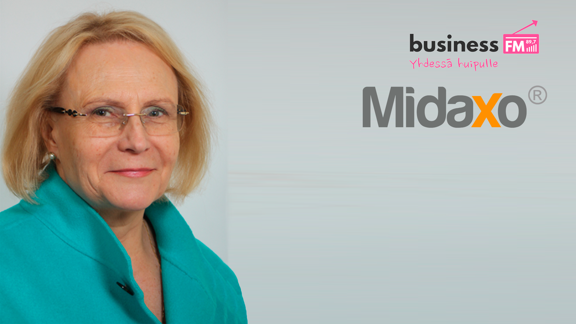 Midaxo's founder Kaija Katariina Erkkilä on Business FM