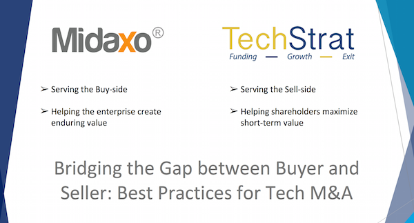 Webinar recording: Bridging the Gap Between Buyer and Seller - Best Practices in Tech M&A