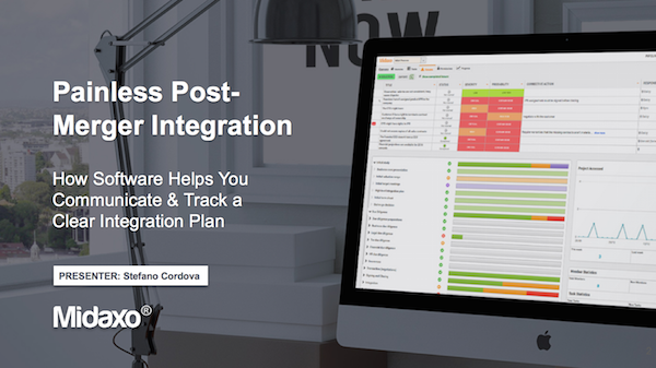Webinar recording: How Software Helps You Communicate & Track a Clear Integration Plan